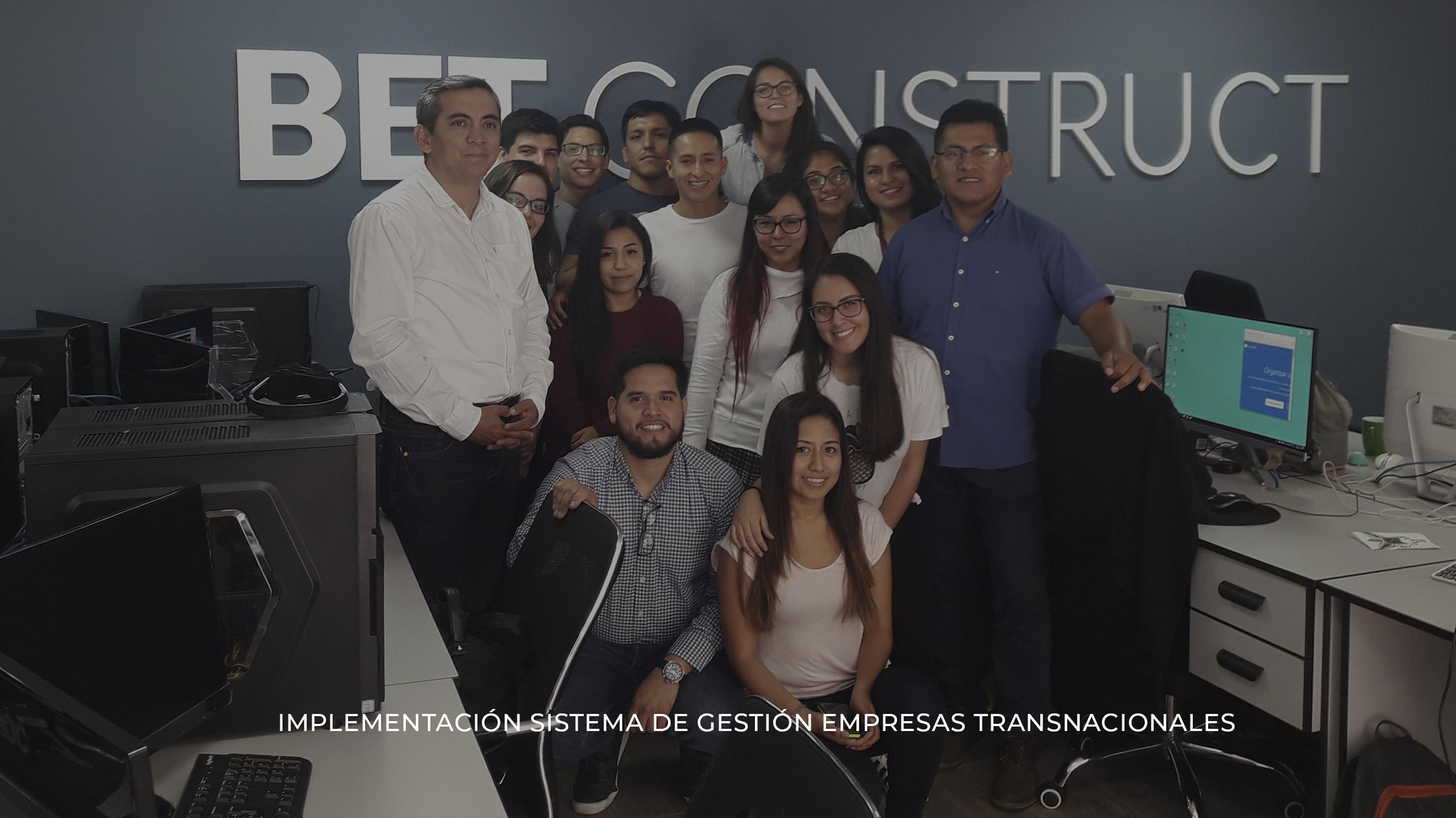 Implementación Sistemas de Gestión empresas transnacionales